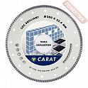 Диск алмазный 250 мм керамогранит и мрамор CARAT Turbo Brilliant CDC