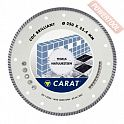 Диск алмазный 350 мм керамогранит и мрамор CARAT Turbo Brilliant CDC